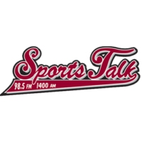 Logo of radio station KREF Sports Talk 1400 The Ref