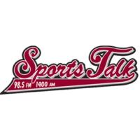 Logo of radio station KREF Sports Talk 1400 The Ref