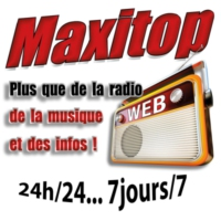 Logo of radio station Maxitop
