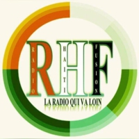 Logo of radio station (((RadioHaitifusion)))