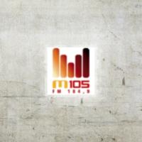 Logo of radio station M105 FM