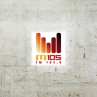 Logo of radio station M105 FM