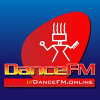 Logo of radio station Dance FM Chile