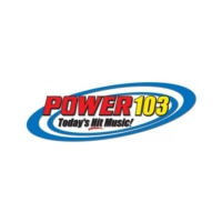 Logo of radio station KCDD Power 103 FM