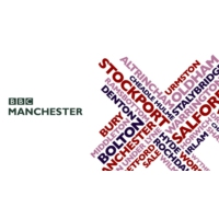 Logo of radio station BBC Radio Manchester