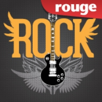 Logo of radio station Rouge FM Rock