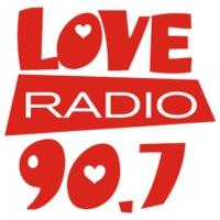 Logo de la radio Love Radio 90.7 FM