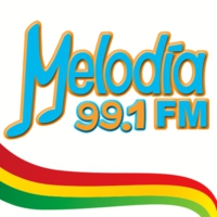 Logo de la radio Melodía FM 99.1