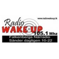 Logo of radio station Falkenberg Radio Wake UP 105.1