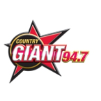 Logo de la radio WGSQ The Country Giant