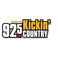 Logo of radio station WCKN 92.5 Kickin' Country