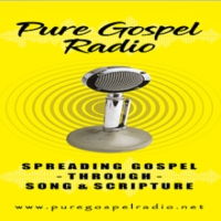 Logo of radio station Pure Gospel Radio
