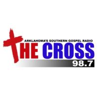 Logo de la radio KFSW 98.7 The Cross
