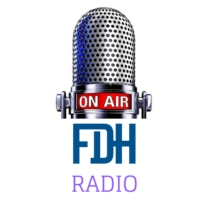 Logo of radio station FDH Radio