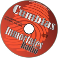 Logo of radio station Cumbias Inmortales