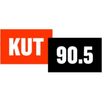 Logo of radio station KUT 90.5 FM