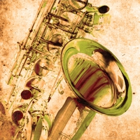 Logo of radio station JAZZRADIO.com - Saxophone Jazz