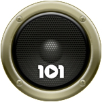 Logo of radio station 101.ru - Высоцкий