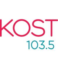 Logo of radio station KOST 103.5