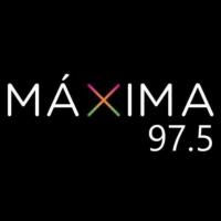 Logo of radio station XHCAN Máxima Radio 97.5