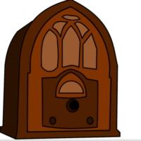 Logo de la radio Travel through the world on radio wave