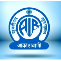 Logo of radio station All India World Service
