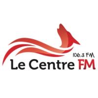 Logo of radio station Le Centre FM