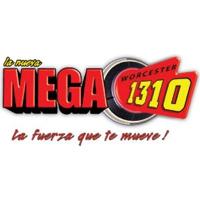 Logo of radio station WORC La Nueva MEGA Worcester 1310