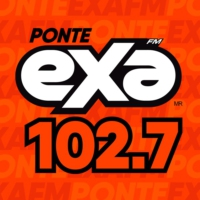 Logo of radio station XHQT Exa FM 102.7