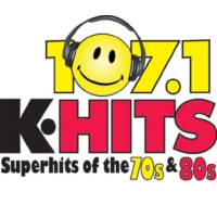 Logo of radio station KTHI 107.1 K-Hits