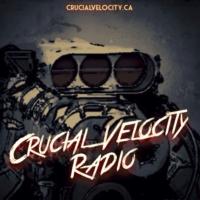 Logo of radio station Crucial Velocity Radio