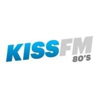 Logo of radio station Kiss FM 80s