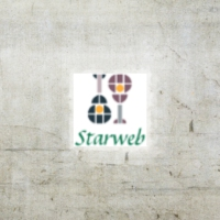 Logo of radio station starweb radio