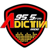 Logo of radio station XHCMM Adictiva 95.5 FM