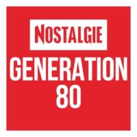 Logo of radio station Nostalgie Génération 80