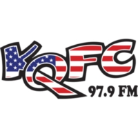 Logo of radio station KQFC 97.9