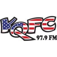 Logo of radio station KQFC 97.9