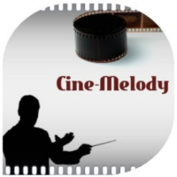 Logo of radio station Cine-melody