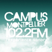Logo of radio station Radio Campus Montpellier 102.2 FM