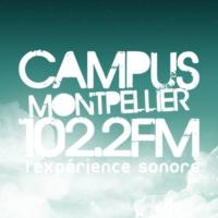Logo de la radio Radio Campus Montpellier 102.2 FM