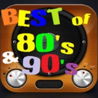 Logo of radio station 80S 90S HITS RADIO