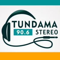 Logo of radio station Tundama Stereo 90.6