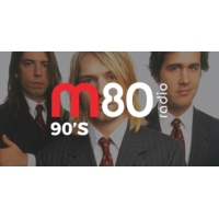 Logo of radio station M80 Rádio - 90's