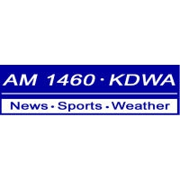Logo of radio station KDWA