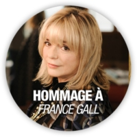 Logo of radio station RFM Hommage à France Gall
