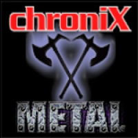Logo de la radio ChroniX - METAL