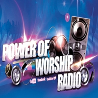 Logo of radio station Power of Worship Radio