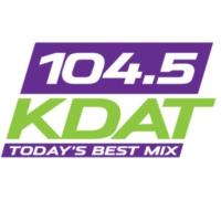 Logo de la radio KDAT 104.5