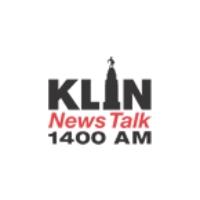 Logo of radio station KLIN NewsTalk