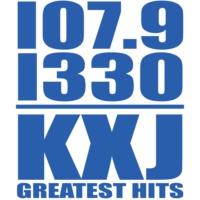 Logo of radio station KXJ Radio